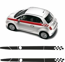 kit adesivi STICKERS fiat 500