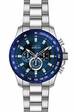 Invicta Speedway Chronograph Blue Dial Mens Watch 24212