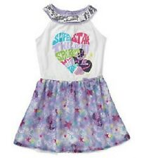 My Little PONY Glittery Dress Girl's 4/5 NeW Pretty Sequins Double Layer Skirt
