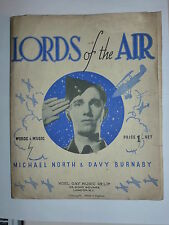 Lords of the Air - Music Sheet 1939 / WW11 / RAF