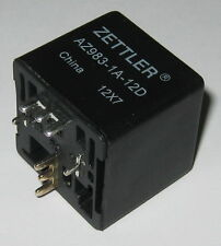 Zettler AZ983 80A SPST Automotive Relay - 14 VDC SPST Contacts - 12 V DC Coil