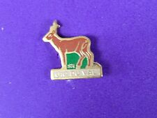 pins pin chasse chasseur  gic du val 1974