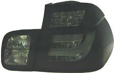 Coppia fari fanali posteriori TUNING BMW Serie 3 E46 98-01 berlina neri LED CCFL