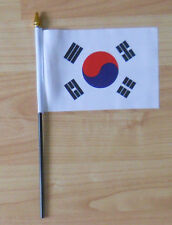 South Korea Country Hand Flag - small