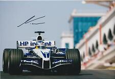 NICK HEIDFELD Signed Autograph SAUBER F1 12x8 Photo AFTAL COA