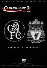 * 2005 CARLING CUP FINAL - CHELSEA v LIVERPOOL *