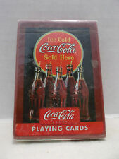 Ice Cold Coca Cola Sold Here #753-R Single Deck Playing Cards USPCC NIB!
