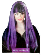 Halloween Party Spooky Witch's Wig MultiColour Witch Fancy Dress Party