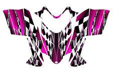 POLARIS SHIFT RMK DRAGON graphics wrap sled deco kit NO2500 Hot Pink