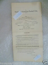 SUNDERLAND Football Club Ltd Annual Accounts & Directors Reports Y/E 1929 4 May