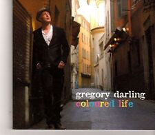 (GC132) Gregory Darling, Coloured Life - 2012 DJ CD