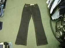 "John Banner Bootcut Jeans Size 14 Leg 35"" Black Faded Ladies Jeans"