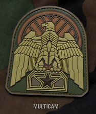 INDUSTRIAL EAGLE MULTICAM TACTICAL COMBAT BADGE MORALE PVC MILITARY PATCH