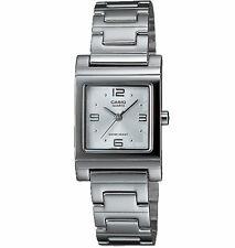 Casio LTP1237D-7A, Women's Analog Silver-Tone Bracelet Watch
