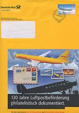 FDC Brief 155c, 50 Jahre Wiederaufnahme des Flugverkehrs in Deutschland 3.3.05