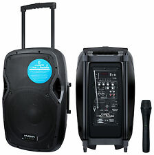 Kam rz10a v3 Batteria Portatile PA SYSTEM Boombox-Bluetooth, Microfono mp3 & Wireless