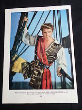 BURT LANCASTER- FILM STAR - 1 PAGE  PICTURE- CLIPPING/CUTTING