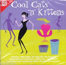 COOL CATS 'N' KITTENS * 2 CD SET * NEW & SEALED CD
