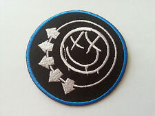 HEAVY METAL PUNK ROCK MUSIC SEW / IRON ON PATCH:- BLINK 182 PATCH No. 0017