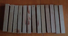"3/4"" Baker's dozen  Black Cherry Craft Wood Pen Blanks Stock"