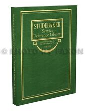 Studebaker Standard 6 and Dictator Shop Manual 1925 1926 1927 1928 1929 ER EU GE