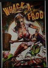 Arkham City whack-a-frog Print Signed by Greg Horn