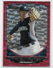 2013 13 BOWMAN DRAFT TAIJUAN WALKER RED ICE ROOKIE PROSPECT 25/25 1/1 LAST MADE