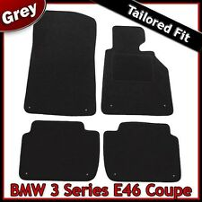 BMW 3-Series E46 Coupe 1999-2006 Tailored Fitted Carpet Car Floor Mats GREY