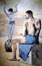 Spain. Young Acrobat on a ball. By Pablo Picasso. Fine Art Print NEW