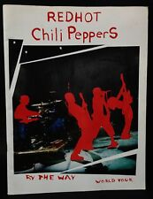 RED HOT CHILLI PEPPERS By The Way Tour Program. Excellent Condition