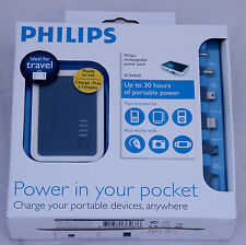 Philips Battery Charger Power Pack SCE4420 Samsung Motorola Sony Ericsson USB