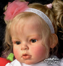 "New Reborn Toddler Doll Kit Arianna By Reva Schick @28""@Body Included"