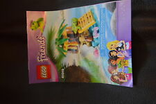 Lego Turtle's Little Oasis 41019 turtle clam shell bow 100% complete