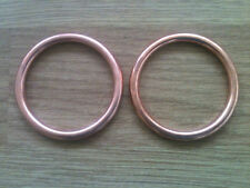 Honda CD125 CD185 CD200 Benly Exhaust Gasket Set of 2 New