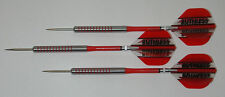 POWERGLIDE 80% Tungsten 32 Grams Fixed Point Steel Darts - Ringed Grip - #3
