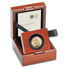 2016 Great Britain Gold Sovereign Proof (w/Box & COA) - SKU #94515