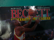 VINTAGE BECKETT BASKETBALL MONTHLY MAGAZINE MAY 1992