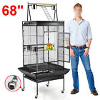 Bird Cages Large Play Top Parrot Finch Cage Cockatoo Pet Supplies
