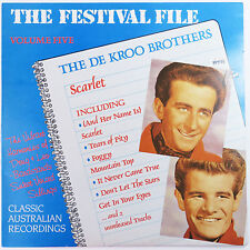 The Festival File Volume Five Scarlet by DeKroo Brothers, 1988 LP Vinyl Record