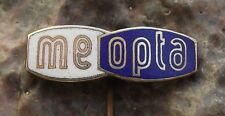 Meopta Stereo Viewfinder Binocular Worm Logo Camera Optical Company Pin Badge