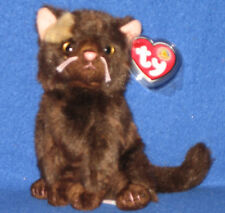 TY FIDDLER the CAT BEANIE BABY - MINT with MINT TAGS - BBOM