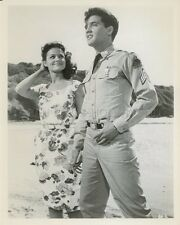ELVIS PRESLEY  JOAN BLACKMAN BLUE HAWAII 1961 VINTAGE PHOTO ORIGINAL #2