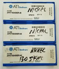 APHT160408ER-46 SP6519 031495 ATI STELLRAM * 30 INSERTS * FACTORY PACK*  328