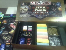 Star Wars Episode 1 Monopoly Hasbro Parker Brothers 1999