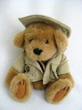 Jungle Joe Talking Plush Teddy Bear Game Warden Jim's Safari Friends
