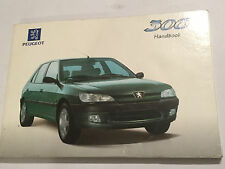 PEUGEOT 306 OWNERS USER INSTRUCTION HANDBOOK DRIVERS MANUAL PETROL DIESEL 1997