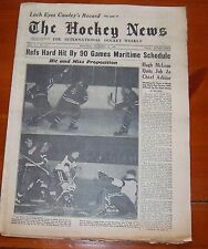 The Hockey News December 15 1951 Max Bentley / Gordie Howe