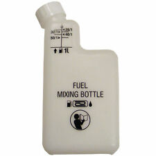 2 Stroke Fuel Mixing Bottle 1 Litre Petrol Oil Mix - Comes with Handy Funnel 1L