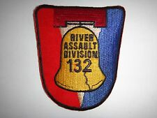 US Navy RIVER ASSAULT DIVISION 132 Vietnam War Patch