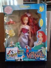 Vintage Disney's Little Mermaid Ariel and Her Friends Doll From TYCO